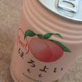 美味しい桃ジュース🍑💕