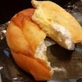 アッサリ目のクリームパンでした