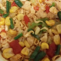 ピリ辛トマト鍋の様な味です