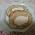 優しいお味の紅茶ロールケーキ