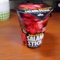 東ハト サラミスティック ブラックペッパー味を食べてみました。