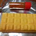 チョコでできた鉄の板