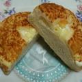 白パン&チーズ