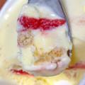 苺のタルトをアイスクリームで再現!