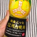 和グレープフルーツでまろやかな柑橘系炭酸でジューシー