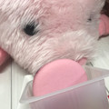 かわいいいピンクベリーマカロン