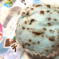 チョコミント蒸しケーキ