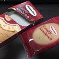 コーティングされたホワイトチョコレートが甘くて美味しい
