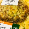 濃厚チーズにハンバーグ!!