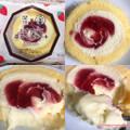 かすたーど苺ロールケーキ