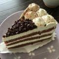 チョコミントってケーキもおいしい( ´∀`)💕