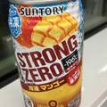 マンゴーの甘酸っぱい味わいがアルコール臭を緩和してくれました(^ ^)
