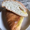 三角おさつカスタードパン