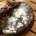 あんまりザクザクではない、あまあまチョコケーキでした♪