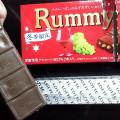 ラムレーズンチョコバー