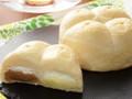 ローソン たっぷりホイップパン 紅茶クリーム&レモンクリーム 那須塩原市産牛乳入りホイップ使用