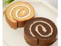 ローソン NL ブランのロールケーキ バニラ&ココア
