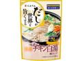 にんべん だしが世界を旨くする コラーゲン入り 濃厚チキン白湯 袋30ml×4