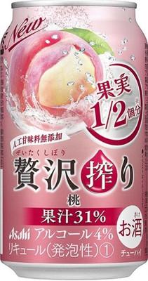 贅沢搾り 桃