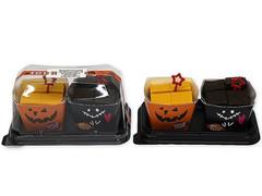 生チョコ仕立て&濃厚かぼちゃ♪セブン「ショコラ&パンプキンチーズケーキ」全国で新発売!