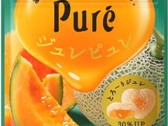 食べごろメロンの味わいを追求!贅沢な「ジュレピュレ 北海道メロン」が登場