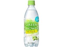 ポッカサッポロ GREEN SHOWER リラックスレモン ペット500ml