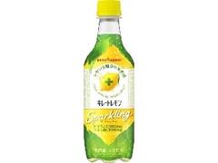 ポッカサッポロ キレートレモン スパークリング ペット450ml