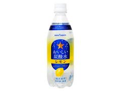 ポッカサッポロ おいしい炭酸水 レモン ペット500ml