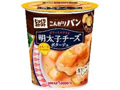 ポッカサッポロ じっくりコトコト こんがりパン 明太子チーズポタージュ カップ22.1g
