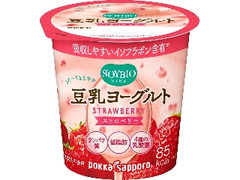 ポッカサッポロ ソイビオ 豆乳ヨーグルト ストロベリー カップ100g