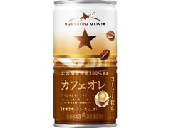ポッカサッポロ 北海道オリジン カフェオレ 缶190g