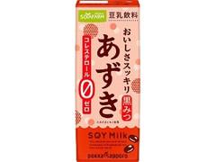 ソヤファーム ソヤファーム おいしさスッキリ あずき豆乳飲料 パック200ml
