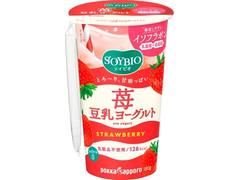 ポッカサッポロ ソイビオ 豆乳ヨーグルトストロベリー