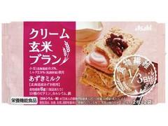 アサヒフード&ヘルスケア バランスアップ クリーム玄米ブラン あずきミルク 袋2枚×2