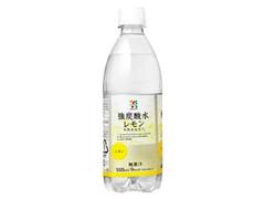 セブンプレミアム 強炭酸水 レモン ペット500ml