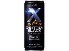 アサヒ ワンダ X‐BITTER ブラック 缶245g