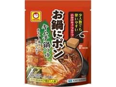 マルちゃん お鍋にポン キムチ鍋つゆ 袋5g×6