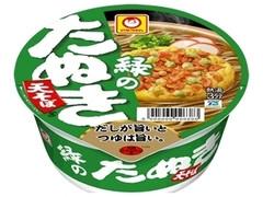 マルちゃん 緑のたぬき天そば 東 カップ101g