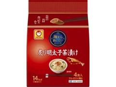 マルちゃん 海からおいしい 炙り明太子茶漬け 袋4.5g×4