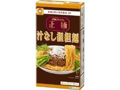 マルちゃん 正麺 汁なし担担麺 箱246g
