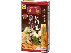 マルちゃん 鍋用マルちゃん正麺 旨辛 濃厚キムチ味 箱294g