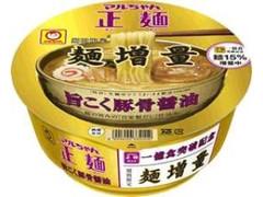 マルちゃん マルちゃん正麺 旨こく豚骨醤油 麺増量 カップ123g