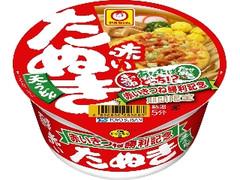 マルちゃん 赤いたぬき天うどん 西 カップ101g
