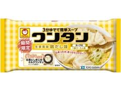マルちゃん トレーワンタン 生姜風味鶏だし味 パック55g