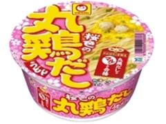 マルちゃん がんばれ!受験生 桜色の丸鶏だしうどん カップ91g