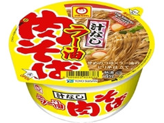 マルちゃん 汁なしラー油肉そば カップ95g