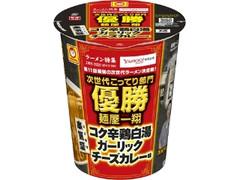 マルちゃん 本気盛 コク辛鶏白湯ガーリックチーズカレー味 カップ102g