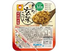 マルちゃん 味な玄米ごはんすきやき味 パック160g