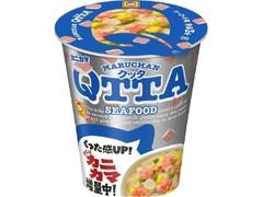 マルちゃん QTTA SEAFOOD ラーメン カニカマ増量 カップ79g