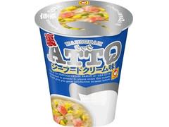 マルちゃん QTTA 裏 シーフードクリーム味